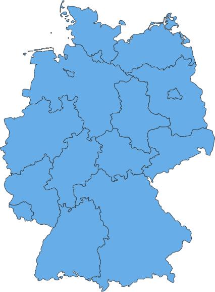 deutschland karte groß Karte der fischereihistorischen und  fachlichen Ausstellungen und
